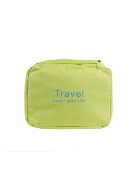 Plain Green Multipurpose Travel Bag