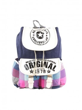 Stylish Multicolor Printed BackPack