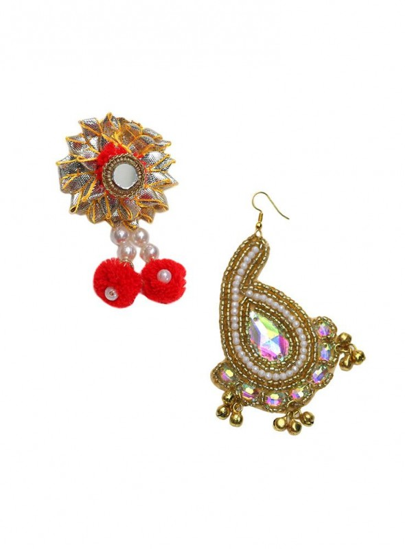 Ethnic Jewelry With 1 Clip and 1 Passa