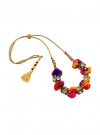 Dress Up Her Ethnic Necklace