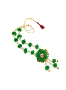 Poms and Pearls Ethnic Jewelry