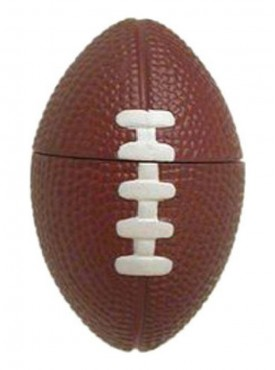 Microware Rugby Football Shape 16 GB Pen Drive