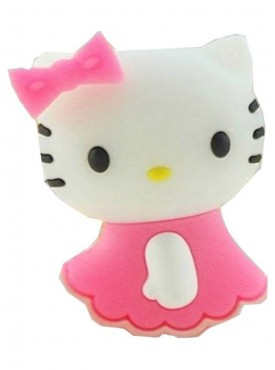 Microware Hello Kitty Shape 16 GB Pen Drive Pink