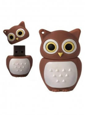 Microware Owl 16 GB Pen Drive Brown