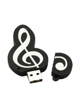 Microware Sheet Music Tweeter 16 GB Pen Drive