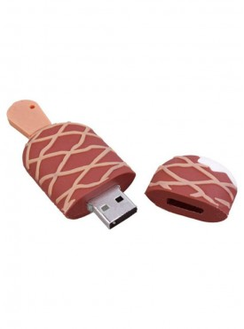 Microware Chocolate Ice Cream Shape 16 GB Pen Drive
