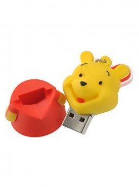 Microware Lovely Winnie The Pooh Shape 16 GB Pen Drive