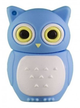 Microware Owl Shape 16 GB Pen Drive Blue