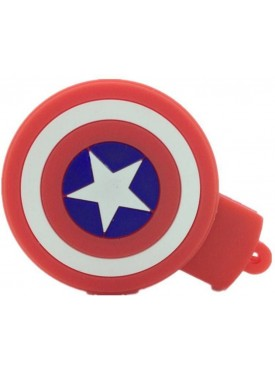 Microware Captain America Star Shape 16 GB Pen Drive Red, White, Multicolor