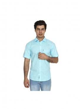 Fizzaro SkyBlue linen shirt for men