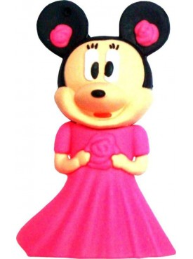 Microware Pink Minni Mouse Shape 16 GB Pen Drive