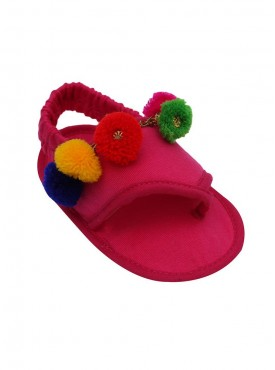 Dress Like Mommy Crib Sandals For Baby Girls
