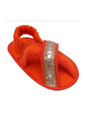 Here Comes The Princess Crib Sandals For Baby Girls