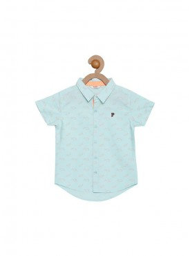 Boys Light Blue Color Shirts