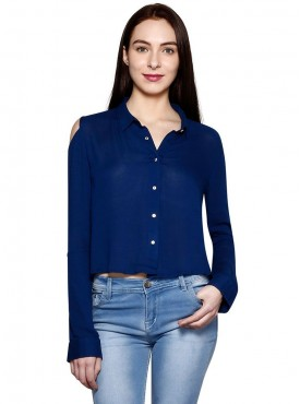 Today Fashion Navy Blue Shirt