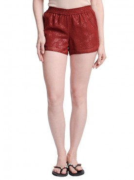 Today Fashion Maroon Coloured Short