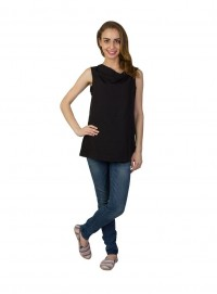 Today Fashion Poly Black Tops