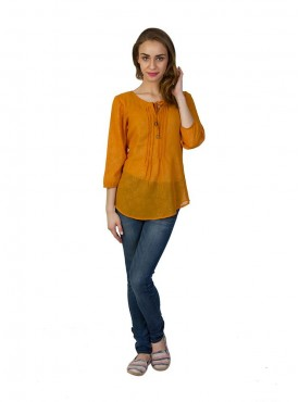 Today Fashion Orange Tops