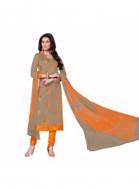 Aasvaa Perfect Embroidered Women Girl Cotton Salwar Suit