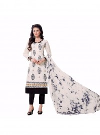 Aasvaa Smashing Embroidered Women Girl Cotton Salwar Suit