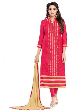 Aasvaa Tremendous Embroidered Women  Girl Glaze Cotton Dress