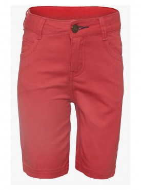 Boys Red Color Short Pant