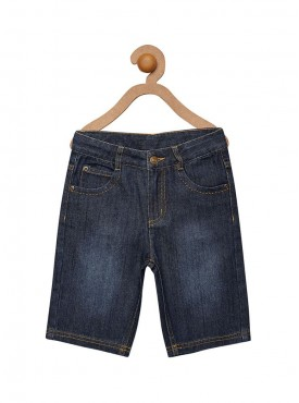 Boys Denim Color Short Pant