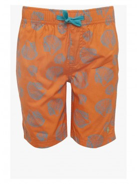 Boys Orange Color Short Pant