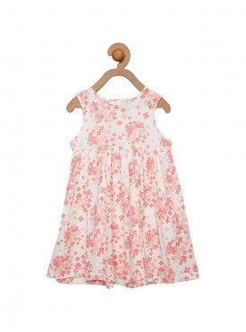Girls Pink Color Frock