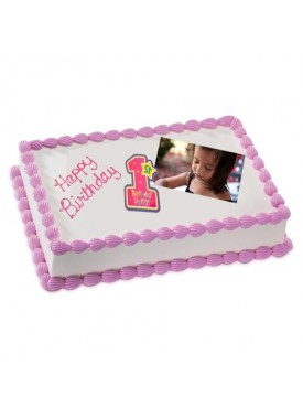 1kg Photo Cake Chocolate Sponge