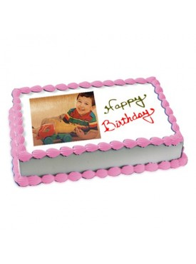 2kg Photo Cake Butterscotch