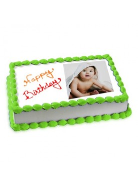 2kg Photo Cake Pineapple