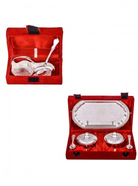 Mini Duck Tray with Spoon and Supari Set with Spoon