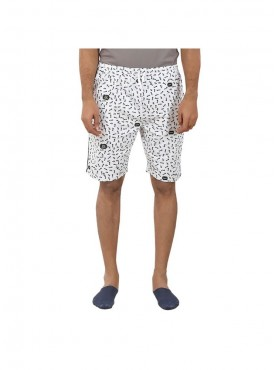 Mens White Color Shorts