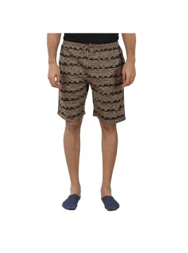 Mens Fossil / Black Color Shorts