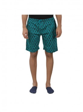 Mens Aqua Green Color Shorts