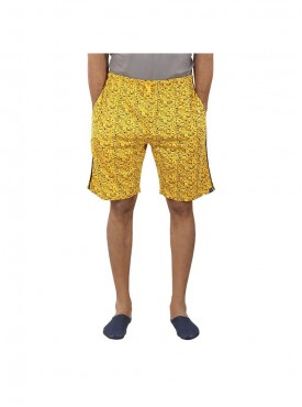 Mens Amber Color Shorts
