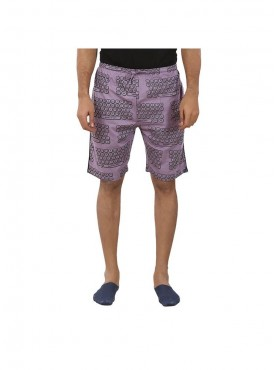 Mens Grape Wine Color Shorts