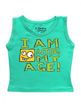 Tantra Acting my age Vest