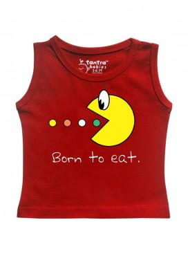 Tantra Born to eat Vest
