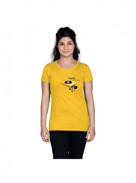 Tantra Women Yellow Music Friends Longtees