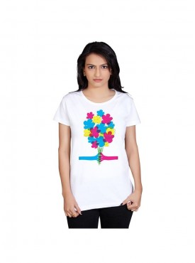Tantra Women White For You Longtees