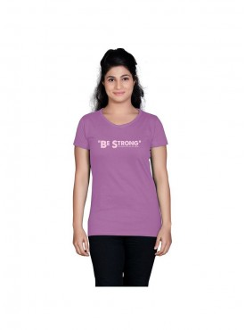 Tantra Women Violet Be Strong Longtees