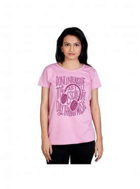 Tantra Women Pink Escape Longtees