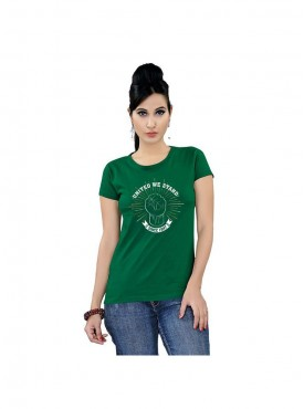 Tantra Women Vivid Green United We Stand Vgrn Longtees