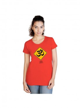 Tantra Women Coral Break Om Corl Longtees