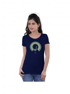Tantra Women Royal Blue Dressed Rblu Longtees
