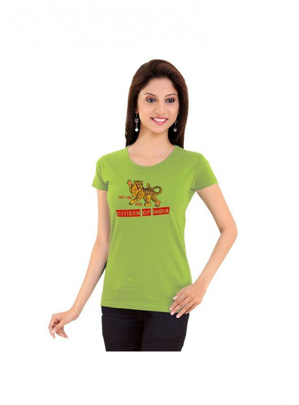 Tantra Women Moss Green Citizen Of India Mgrn Longtees