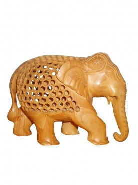 Wooden Elephant Artifact