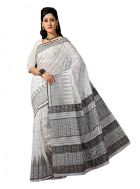 White Color Saree
